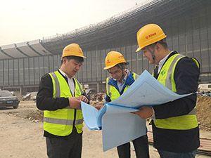 安邦股份首都二机场项目正式进场